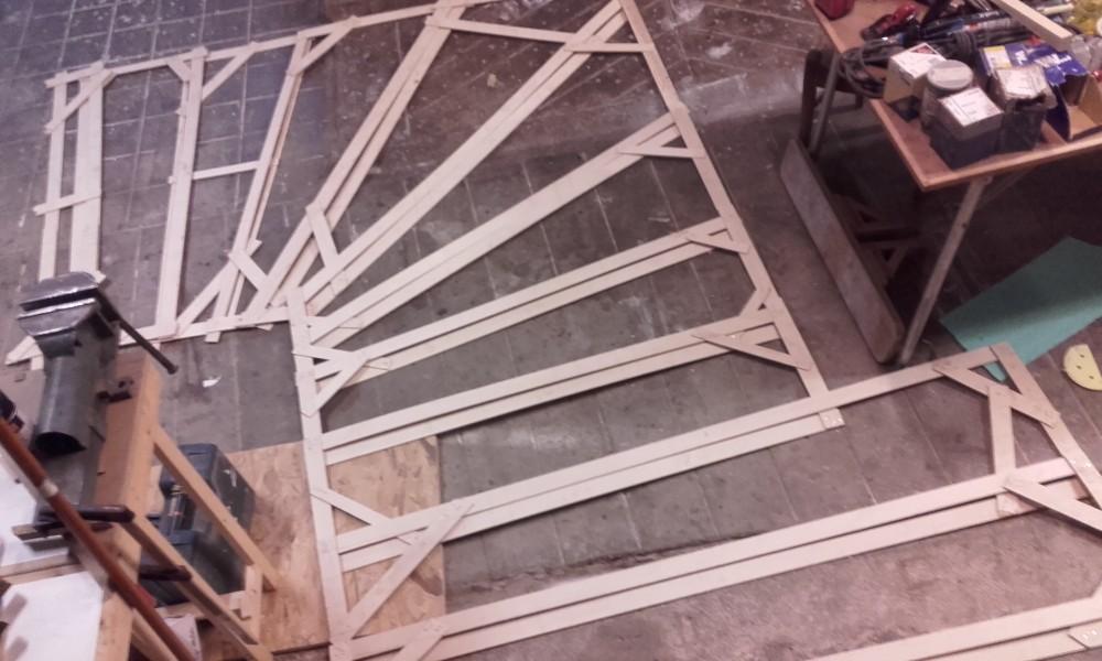 escalier bois exotique quart tournant menuiserie fagot. Black Bedroom Furniture Sets. Home Design Ideas