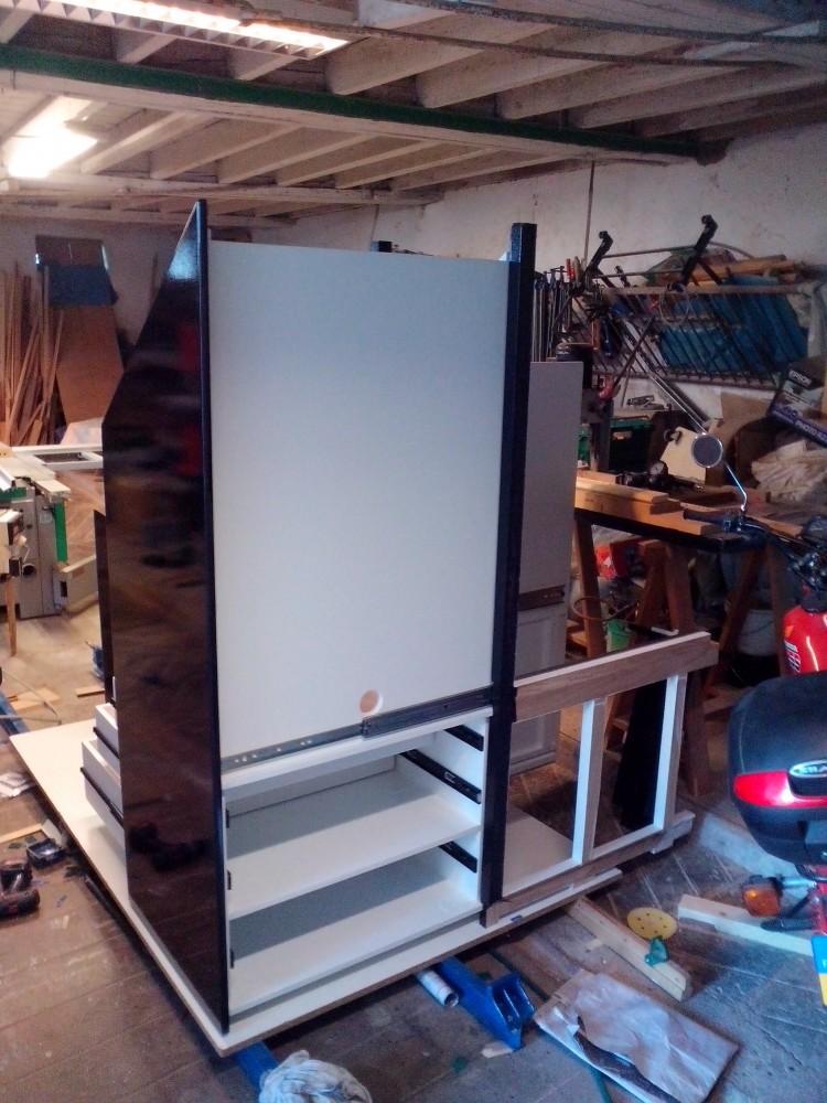 placard escalier trap ze menuiserie fagot. Black Bedroom Furniture Sets. Home Design Ideas